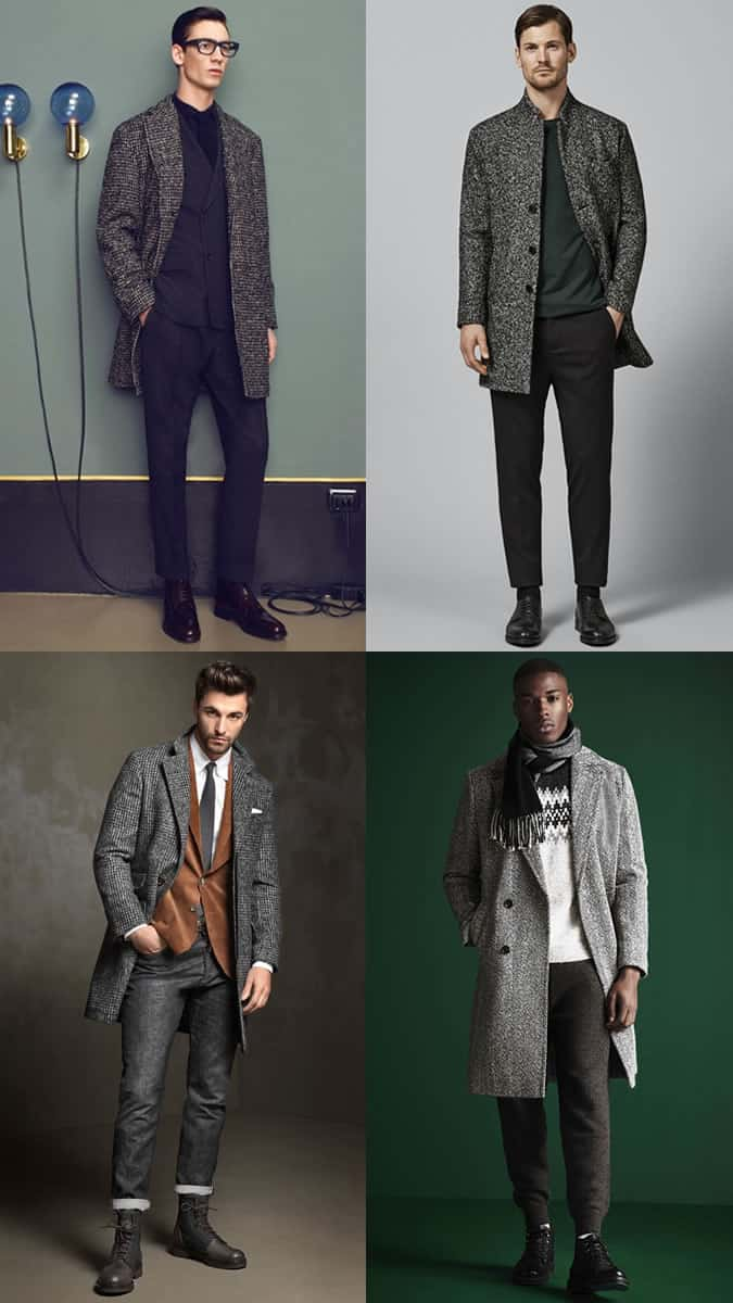 How to wear men's heritage wool overcoats