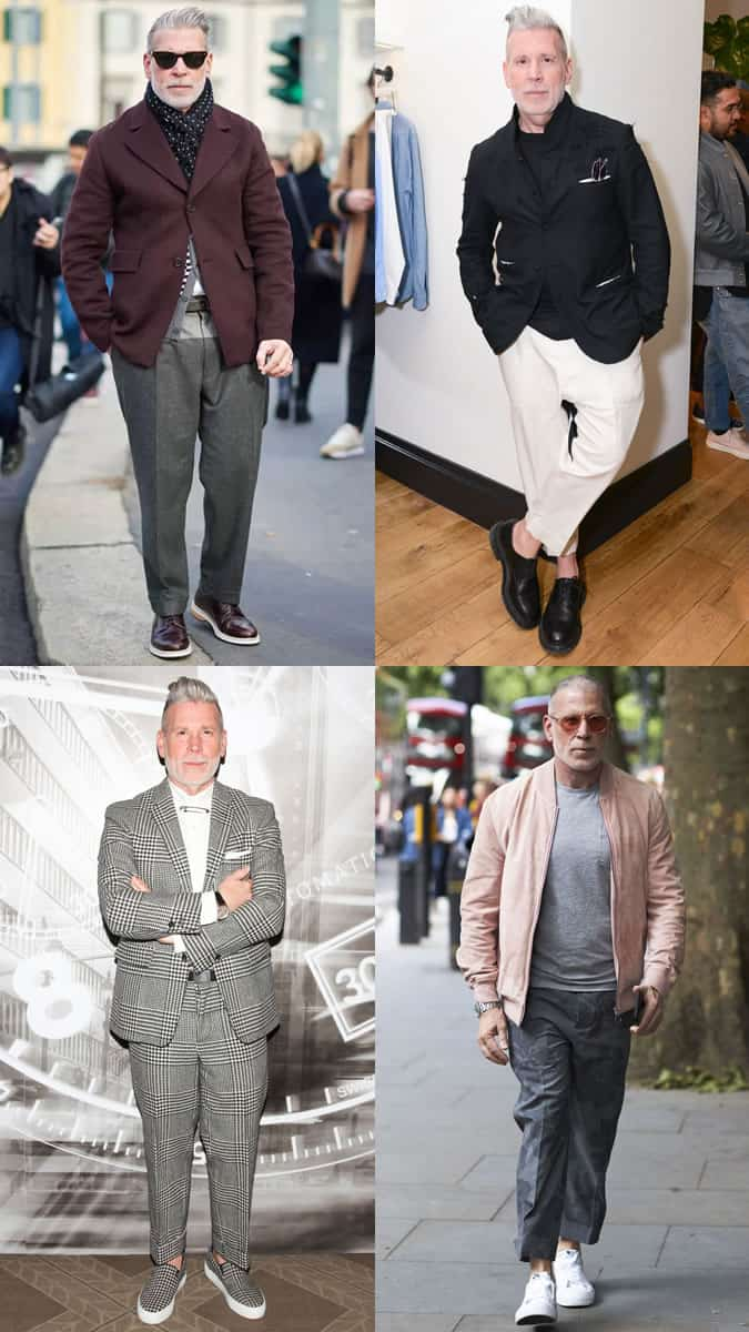 Nick Wooster's best outfits