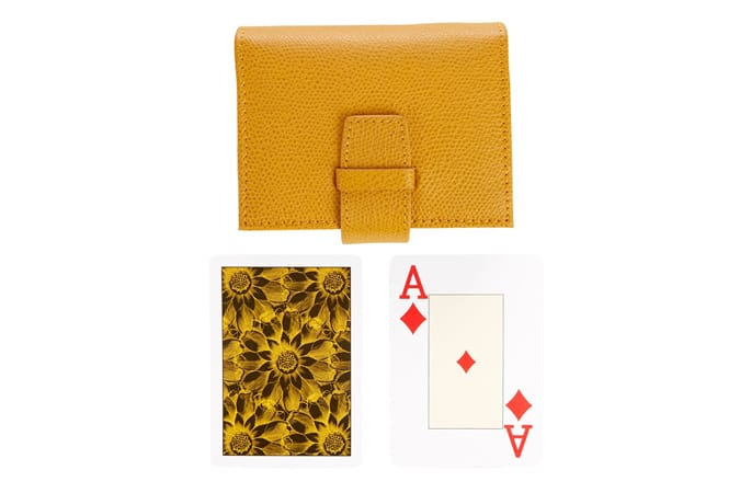 Thomas Lyte Grained Leather Card Set