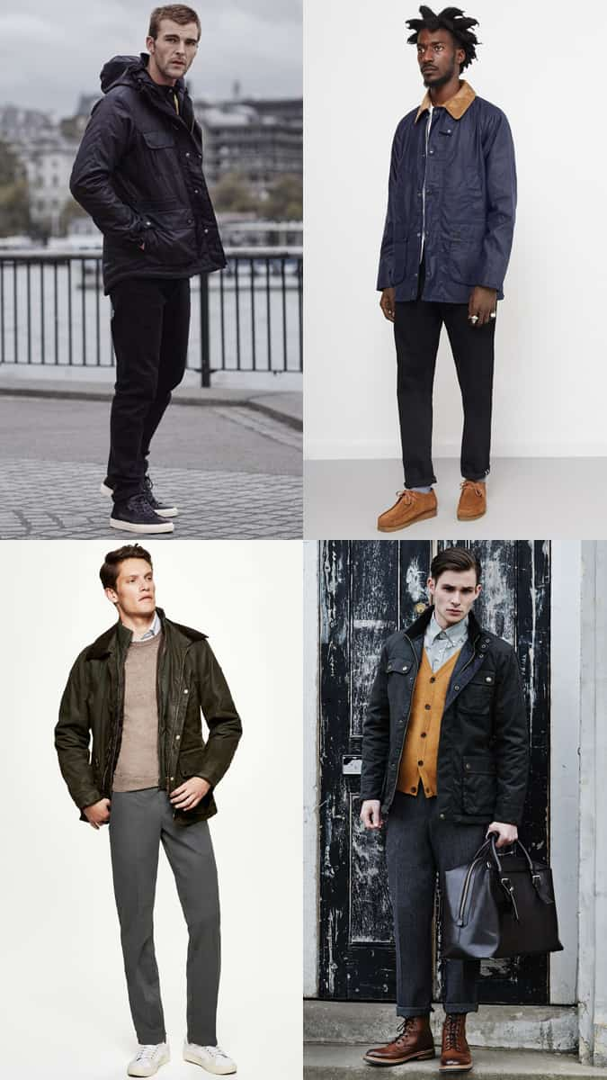 How To Wear A Waxed Jacket