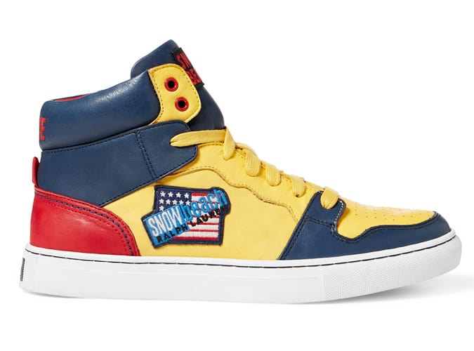 Snow Beach High-Top Sneakers