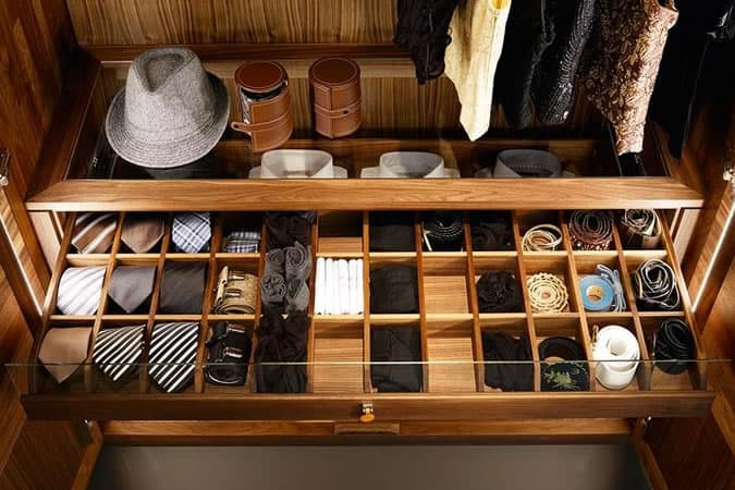 Men's Accessories Wardrobe Organiser
