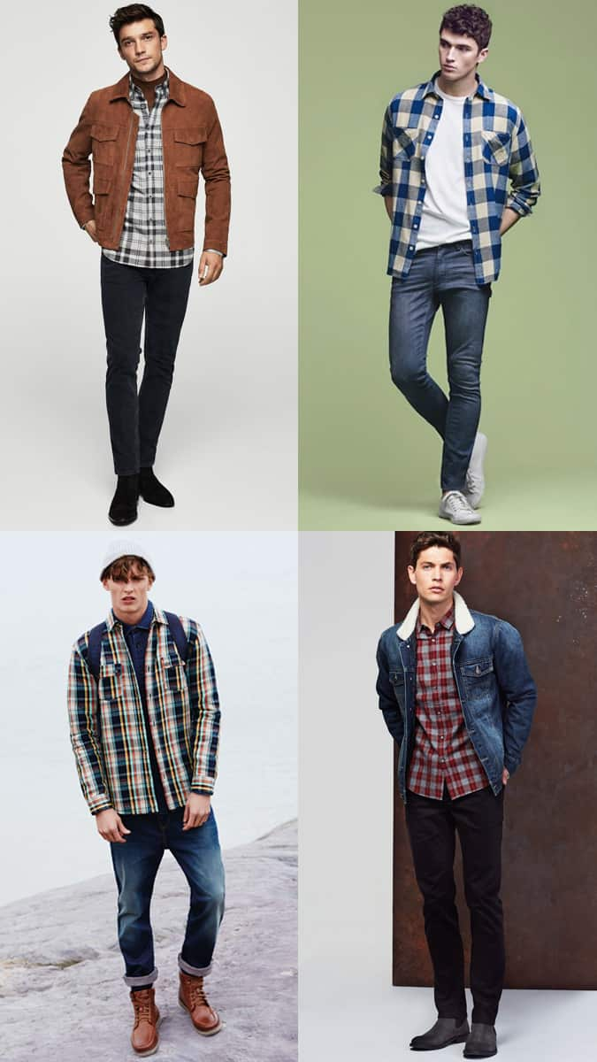 How To Wear Flannel Shirts And Selvedge Denim