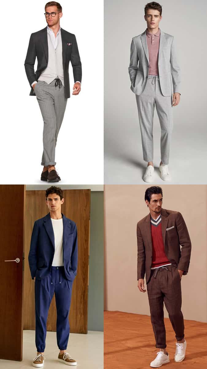 Men's sporty suits
