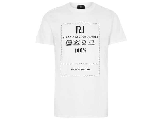 River Island Ditch The Label Charity T-Shirt