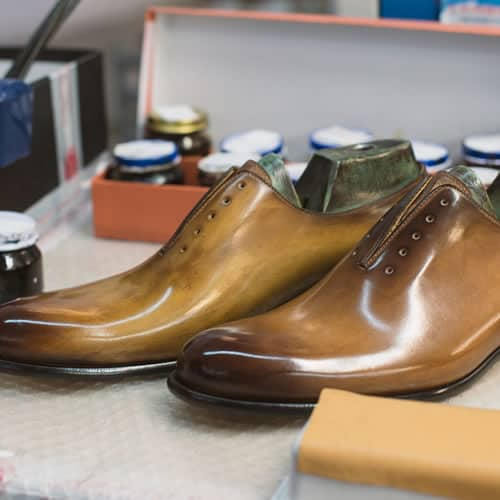 Paul Evans New York - How The Shoes Are Finished