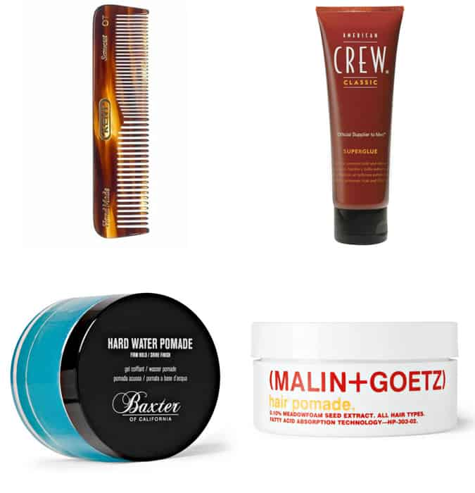 The best men's styling products for slicked back hair