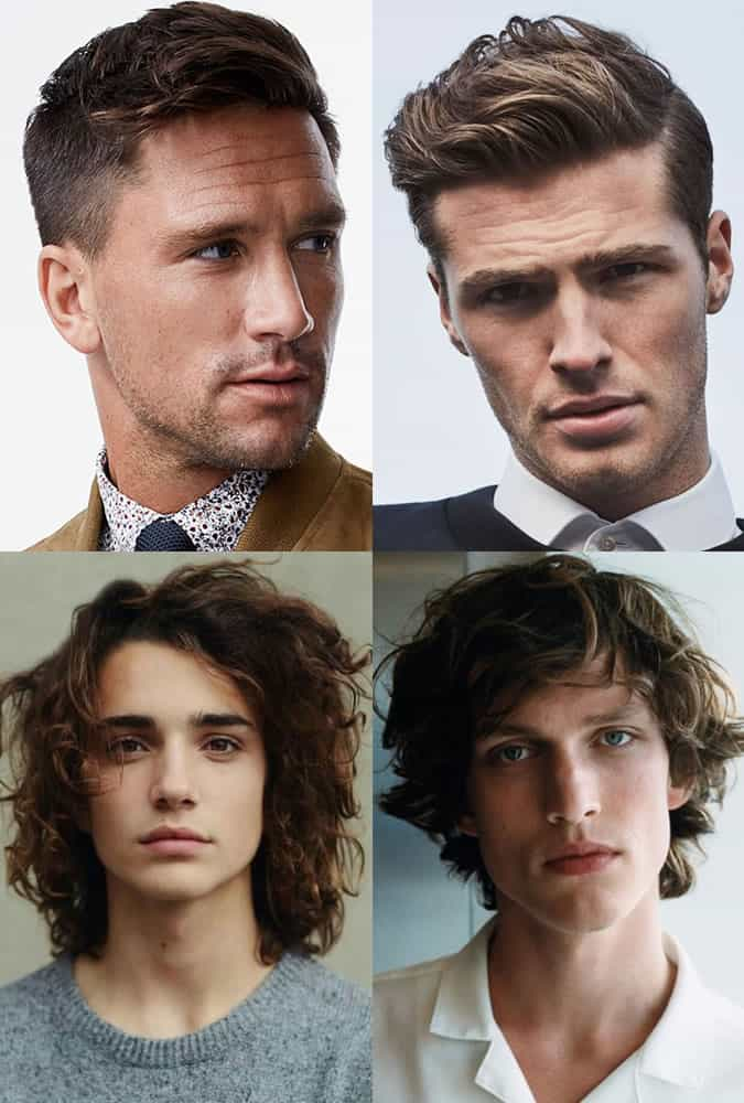 Hairstyles and haircuts for men with unruly hair types