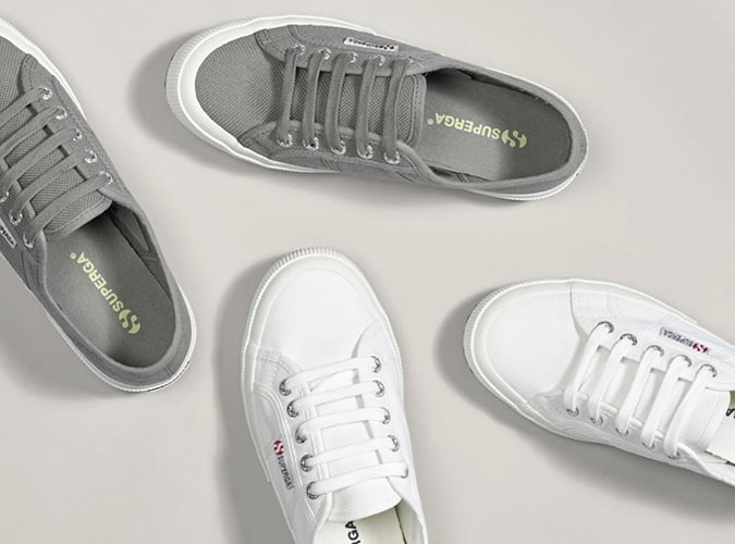 Baskets minimalistes Superga