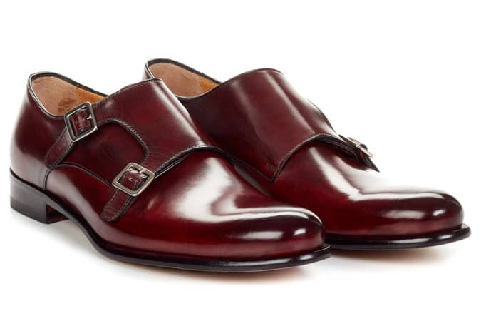 The Poitier Double Monk Strap