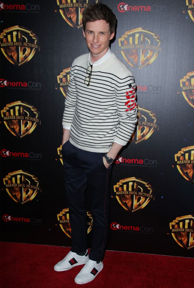 Eddie Redmayne at CinemaCon