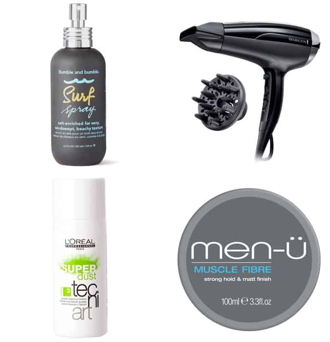 The best hair products for curly bed-head hair