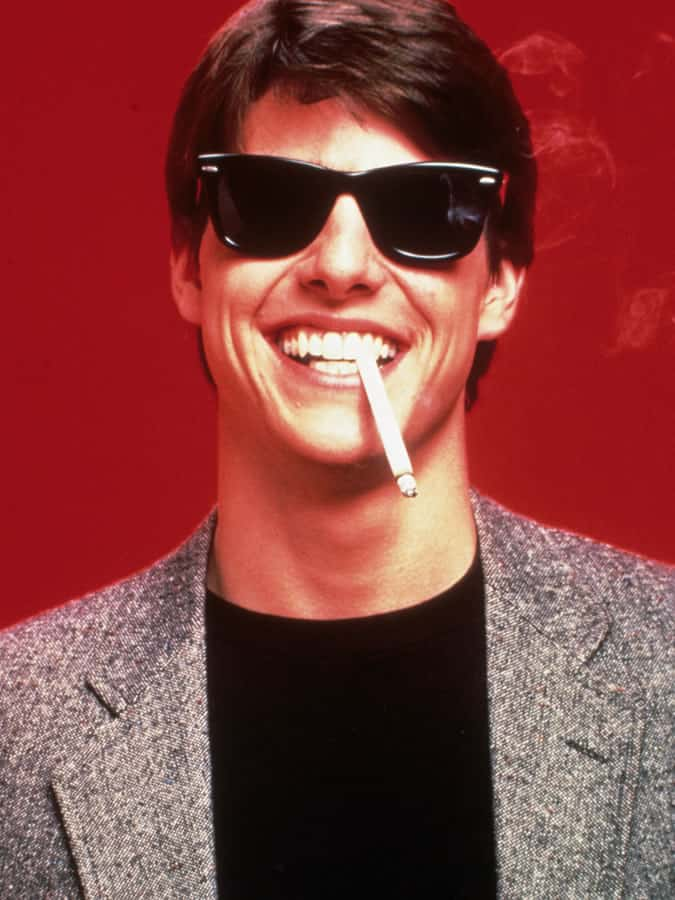 9f84b7e4c Tom Cruise wearing Ray-Ban Wayfarers in Risky Business (1983)