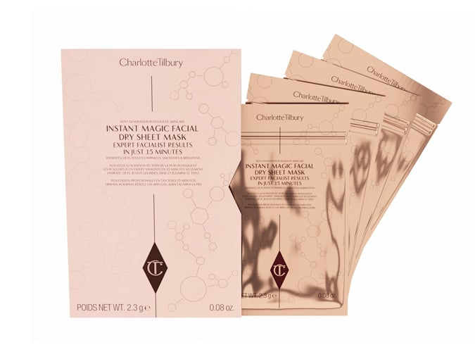 CHARLOTTE TILBURY Instant Magic Facial Dry Sheet Mask Set of 4