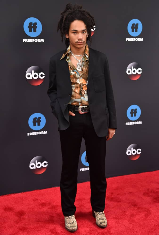 Luka Sabbat At Disney ABC Upfront Presentation