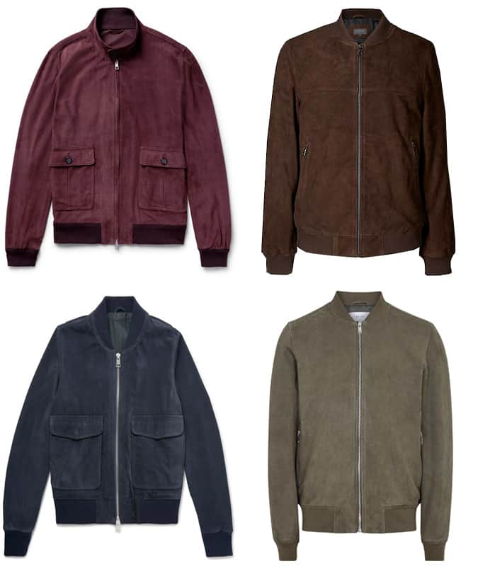 Best Men's Suede Bomber Jackets