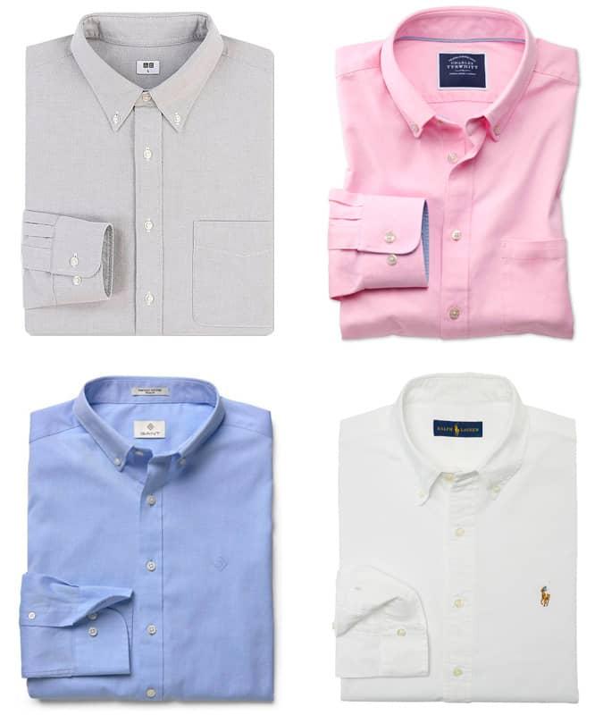 Les meilleures chemises Oxford pour hommes