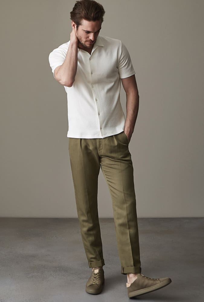 Reiss Pleated Trousers