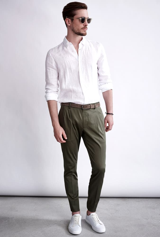 Windsor Pleated Trousers