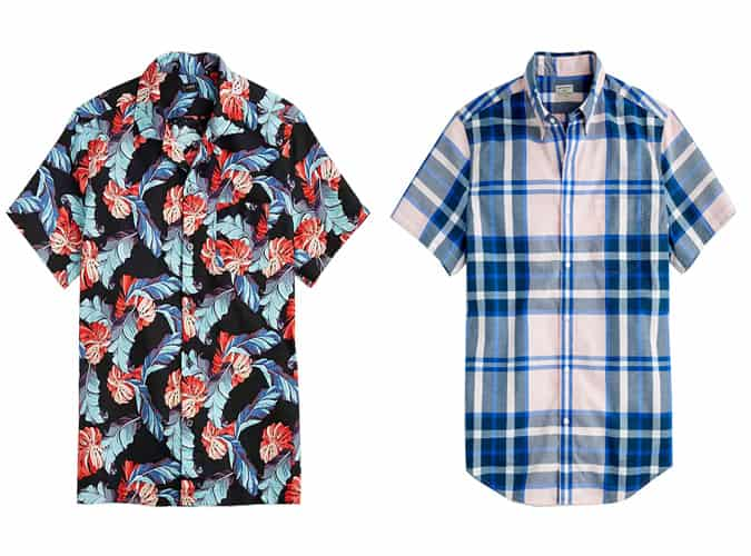 The best J.Crew summer button ups for men