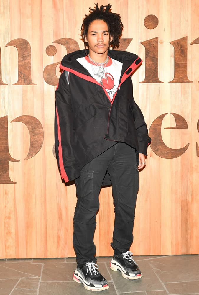 Luka Sabbat Wearing An Oversized Jacket