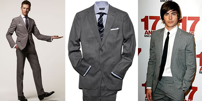 Men's Fashion Basics - Part 19 - The Grey Suit