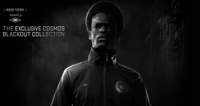 Umbro New York Cosmos Blackout Clothing