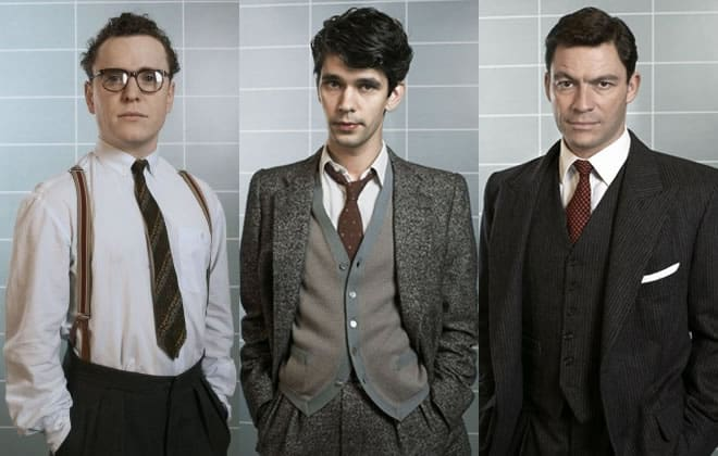 The Cast of BBC 2's The Hour - Fifties Inspired Men's Fashion