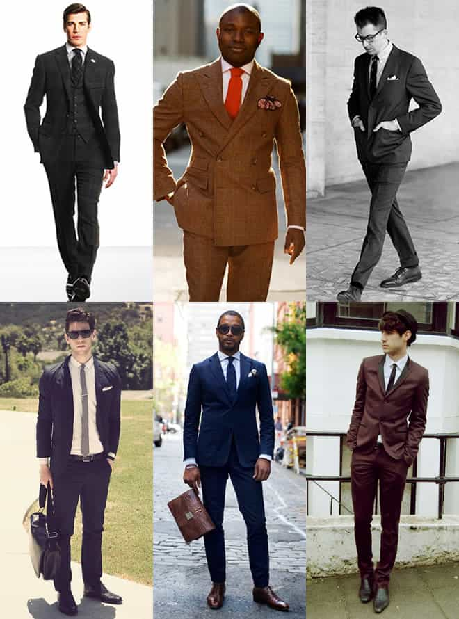 Men's Lounge Suits Look Book Inspiration