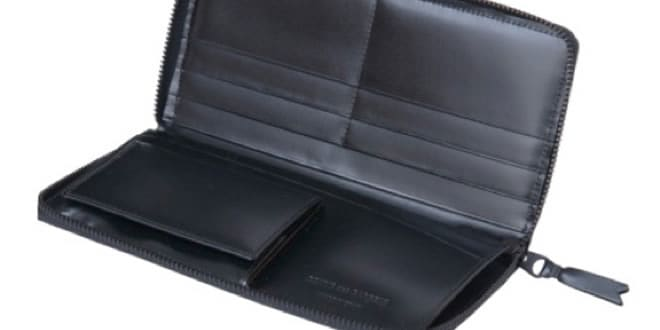 Comme des Garcons 'Very Black' Wallet Collection
