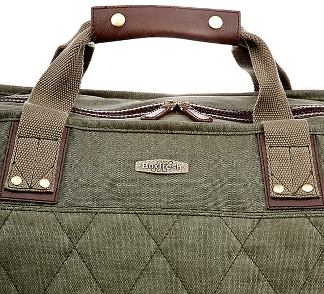 Box Fresh Wolsey Quilted Holdall