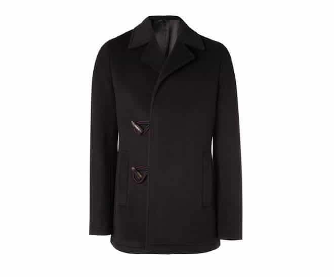 Raf Simons Horn Toggle Fastening Wool Jacket