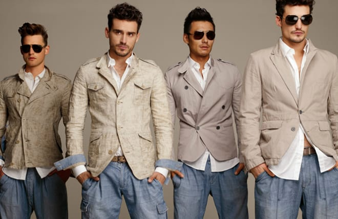 Dolce and Gabbana Spring/Summer 2012 Man Collection