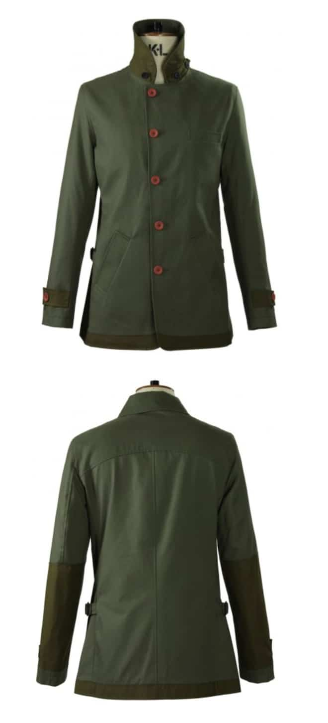 Oliver Spencer Surveillance Jacket Turner Green
