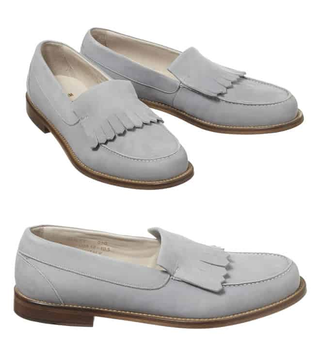 Plectrum Baxley Suede Tasseled Loafer