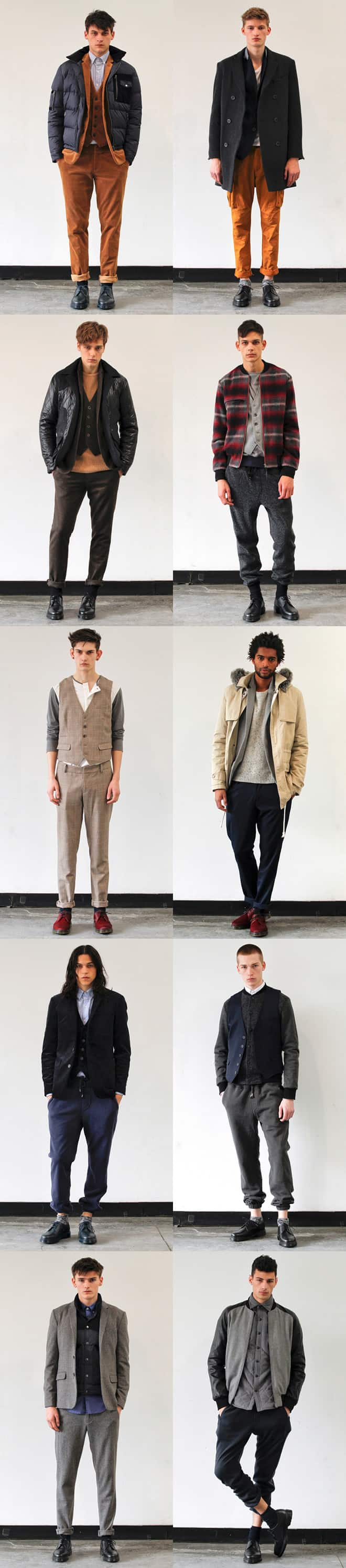 Shades Of Grey AW12 Collection