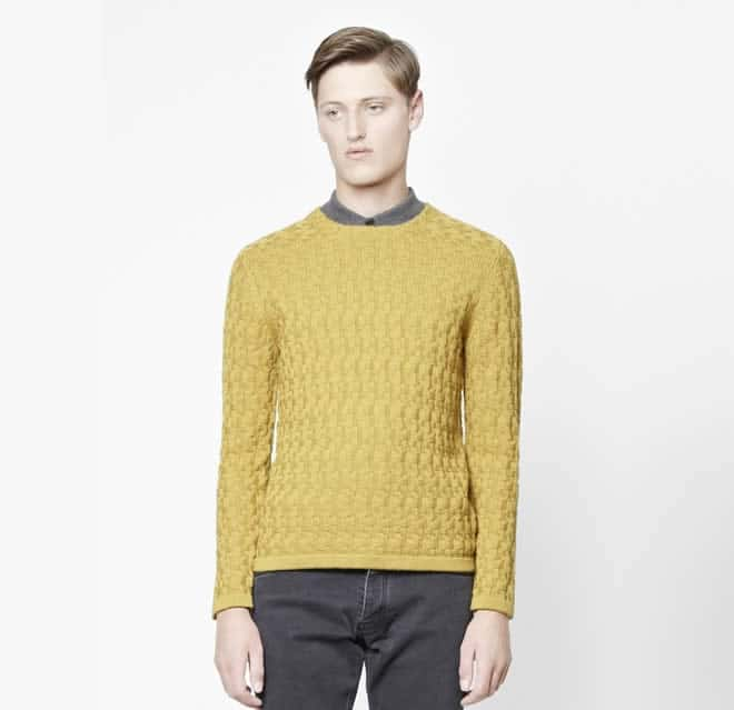 COS Structured Wool Jumper