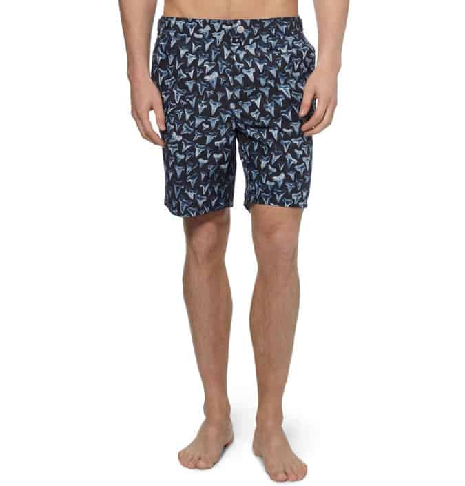 Paul Smith Shark Tooth-Print Shorts