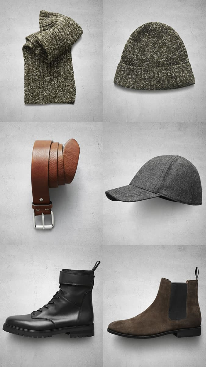 H&M Autumn 2013 Accessory and Footwear Highlights For Men