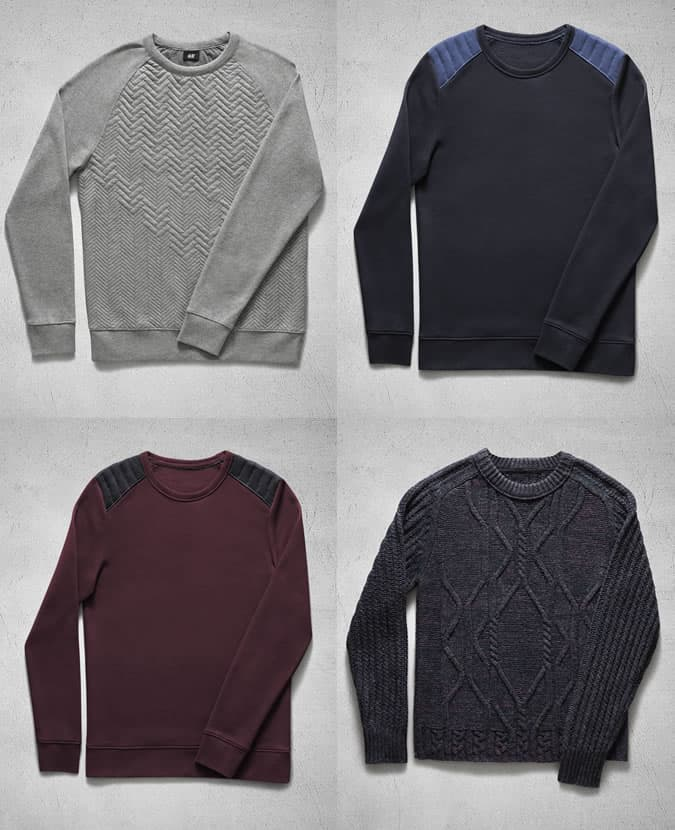 H&M Autumn 2013 Knitwear Highlights For Men