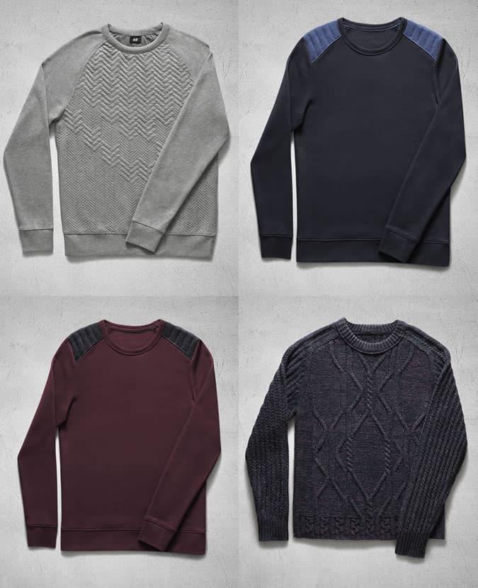 7f02794725e2a5 H&M Autumn 2013 Knitwear Highlights For Men