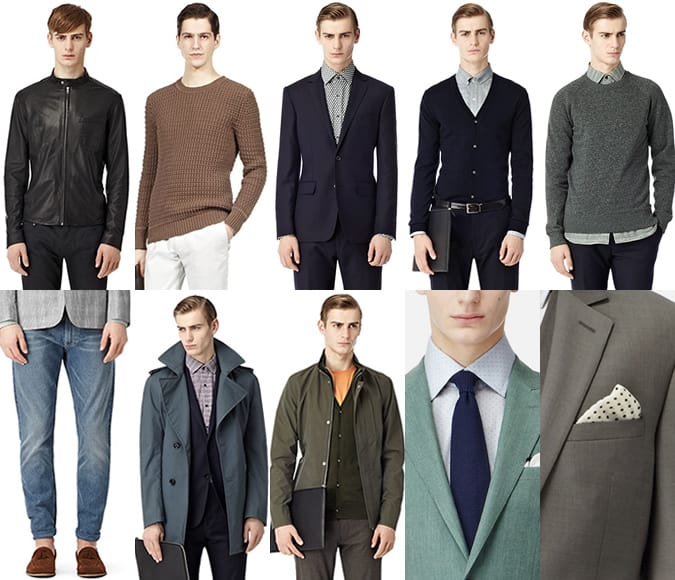 Reiss Menswear SS13 - Dominic Shearer Most Wanted Top 10 Picks