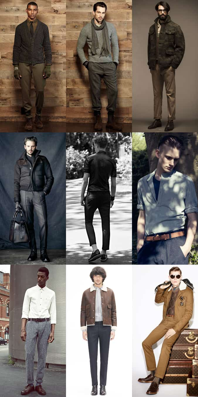 Men's Military Outfit Inspiration