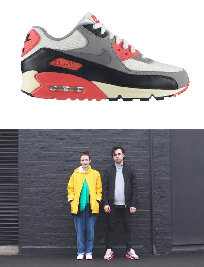 The Air Max 90 by Bruno and Gemma