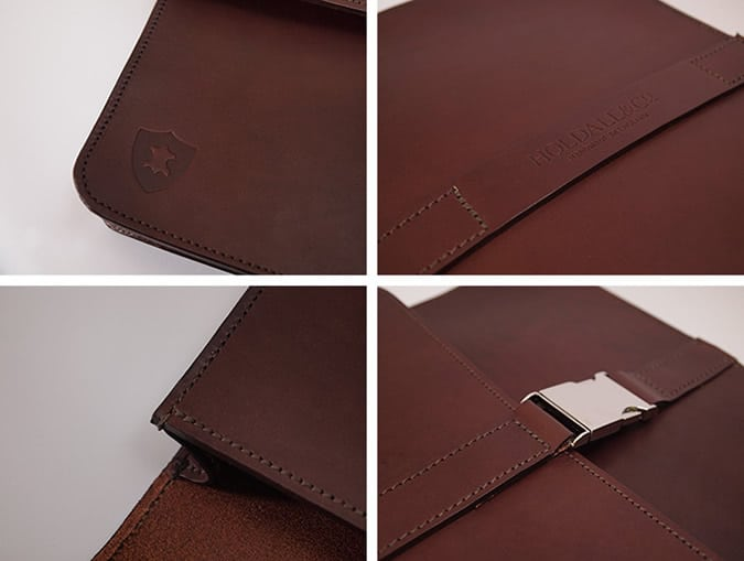 Holdall & Co. leather folios