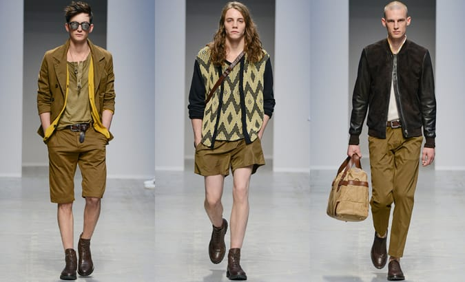 Diesel Black Gold SS13 Menswear: Safari Inspired