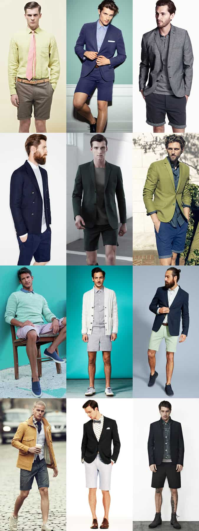 Smart-Casual Outfit Inspiration: Shorts