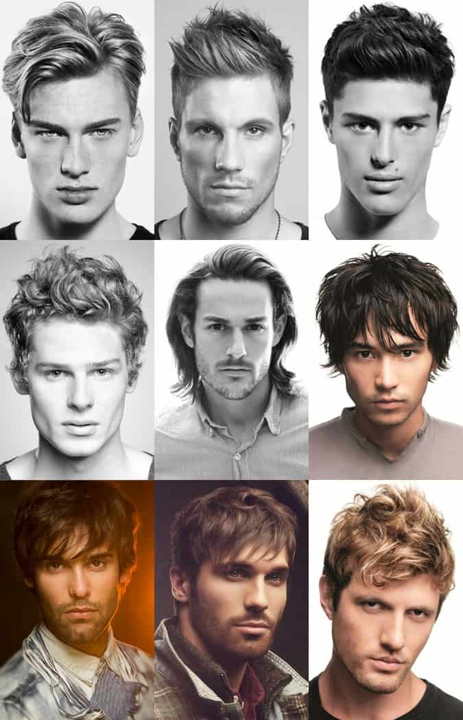 Men' Mid To Long Length Summer Holiday Hairstyles