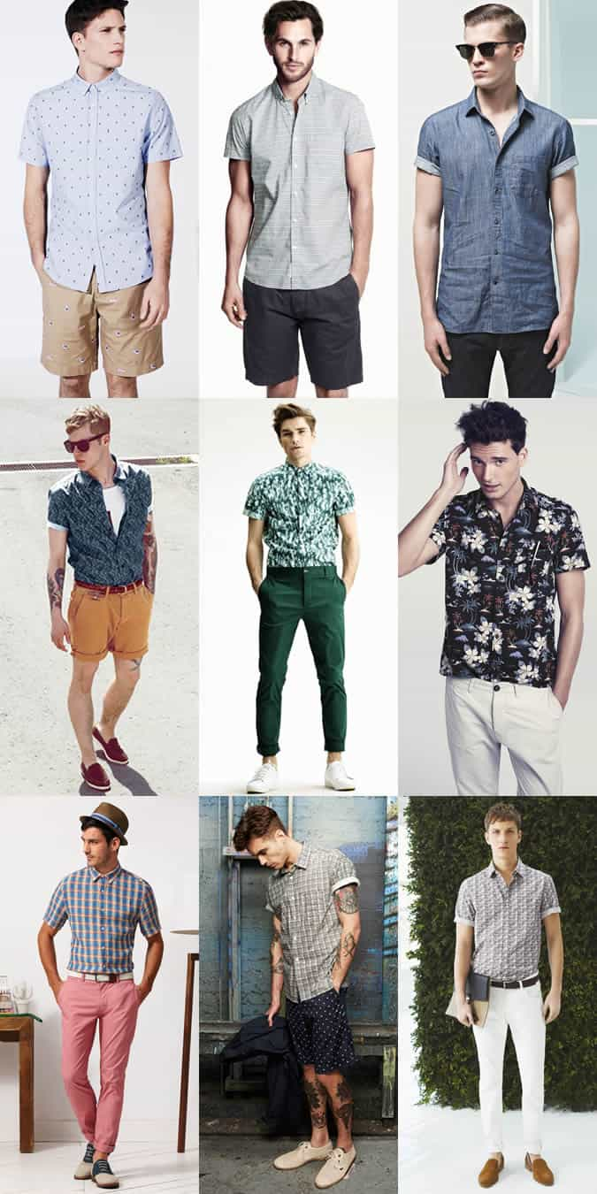 Men's Short-Sleeve Shirt Lookbook