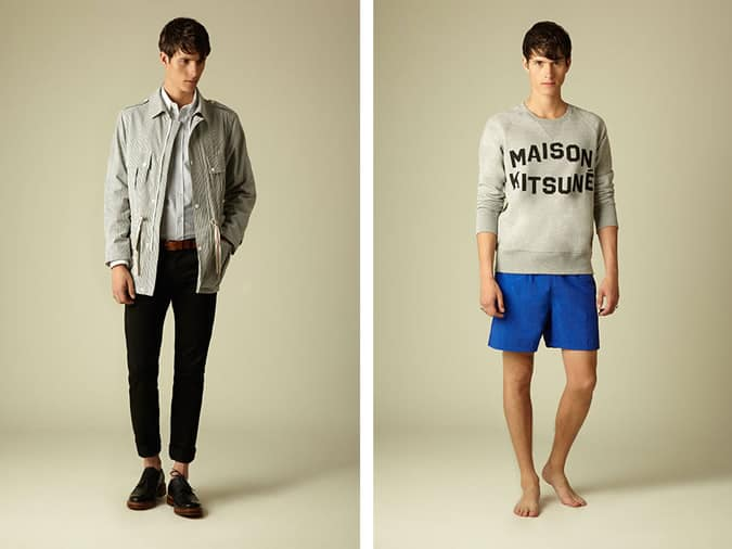 Maison Kitsuné SS14 Collection